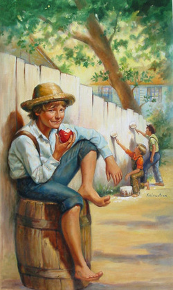 the plot and setting of adventures of tom sawyer Tom sawyer, detective is an 1896 novel by mark twain it is a sequel to the adventures of tom sawyer (1876), adventures of huckleberry finn (1884), and tom sawyer.